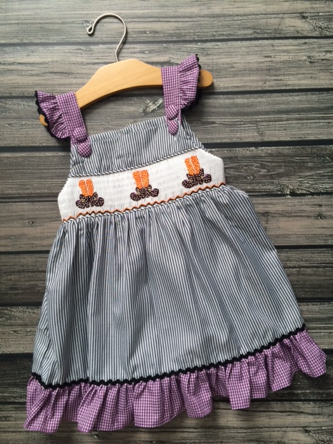 Smocked Witch Dress