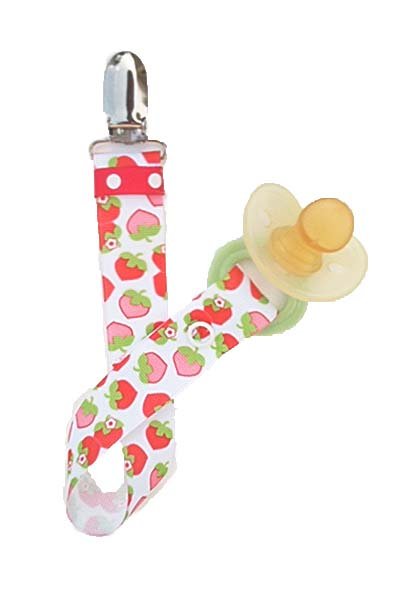 Strawberry Cream Paci Clip