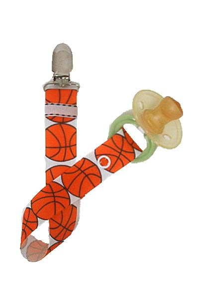 Basketball Fan Paci Clip