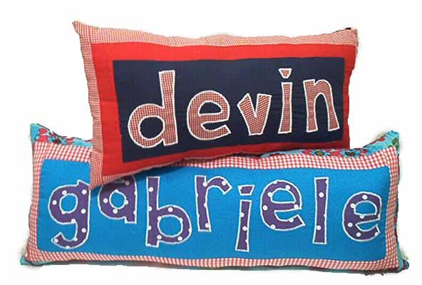 Customized Name Pillow