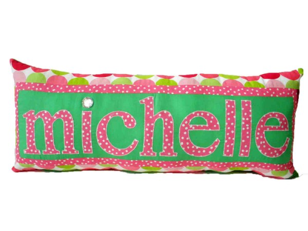 Michelle Personalized Name Pillow