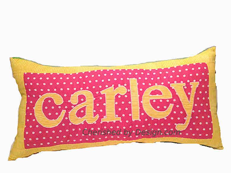 Carley Personalized Pillow