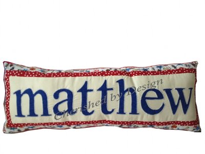 Sports Personalized Name Pillow