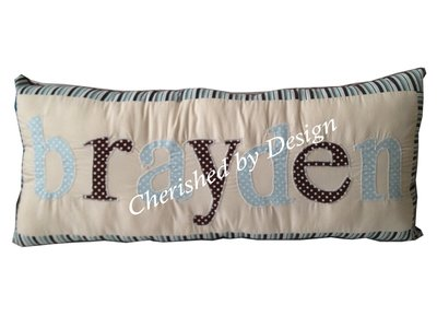 Brayden Personalized Pillow