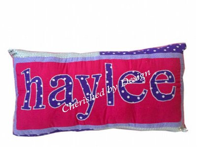 Haylee Purple/Pink Pillow